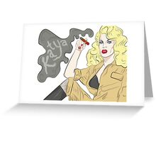 Katya Zamolodchikova Greeting Card