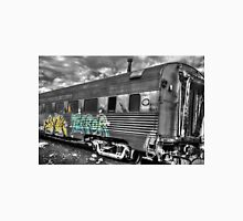 One subject in a train graveyard Unisex T-Shirt