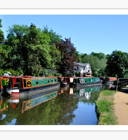 Canal Boats Sticker