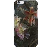 The Begonia Brocade iPhone Case/Skin