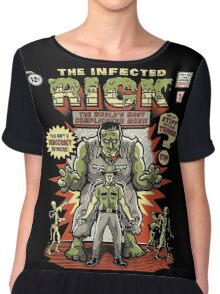 The Infected Rick Chiffon Top