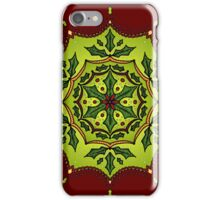 Holly Mandala iPhone Case/Skin