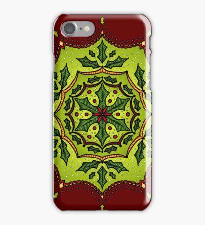 Holly Mandala iPhone Case/Skin