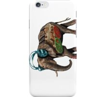 popart elephant - musik iPhone Case/Skin