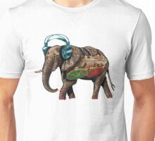 popart elephant - musik Unisex T-Shirt