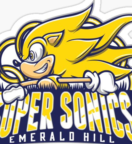 Super Sonics Sticker