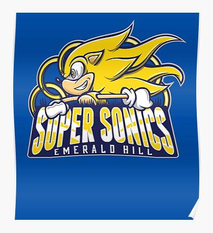 Super Sonics Poster