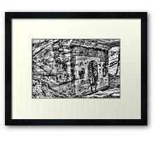 Bridgework Framed Print