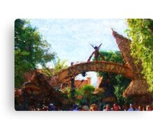 Gateway to Adventure Canvas Print