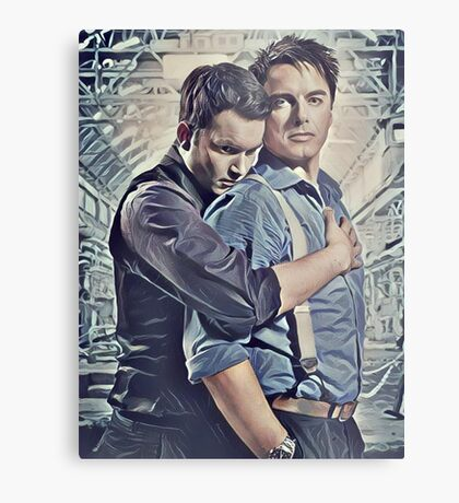 Little Ditty 'Bout Jack and Ianto Metal Print