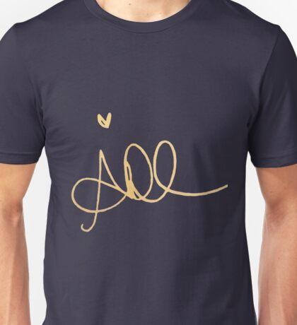Alycia Debnam-Carey's signature Unisex T-Shirt