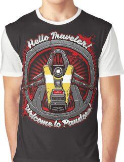 Borderlands - Claptrap art Graphic T-Shirt