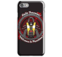 Borderlands - Claptrap art iPhone Case/Skin