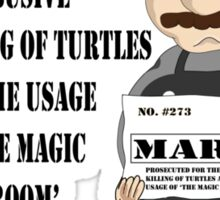 Bad Mario Sticker