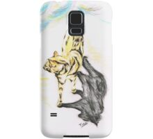 Another Cat following Samsung Galaxy Case/Skin