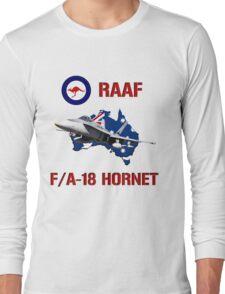 F/A-18 Hornet of the RAAF Long Sleeve T-Shirt