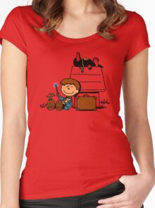 Fantastic Peanuts Women's Fitted Scoop T-Shirt