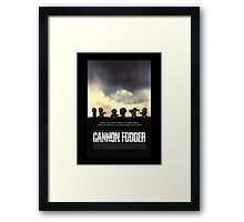 Cannon Fodder - Band of Brothers Style Framed Print