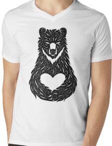 BearHug Mens V-Neck T-Shirt