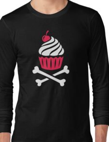 Death by Cupcake Long Sleeve T-Shirt