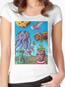Trippy  Women's Fitted Scoop T-Shirt