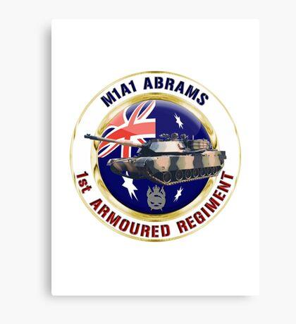 M1A1 Abrams Australia Canvas Print