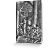Coke and a Ride Greeting Card