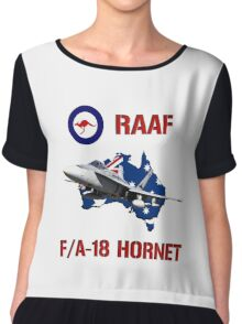 F/A-18 Hornet of the RAAF Chiffon Top