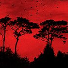 Red Sky Rising by Susan Werby