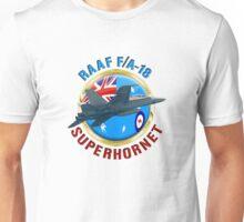 RAAF F/A-18 SuperHornet  Unisex T-Shirt