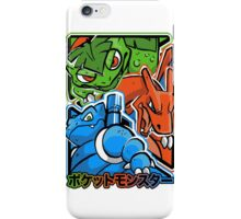 CLASSIC POCKET MONSTERS iPhone Case/Skin