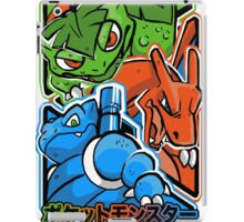 CLASSIC POCKET MONSTERS iPad Case/Skin