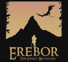 Erebor - The Lonely Mountain (The Hobbit) Baby Tee