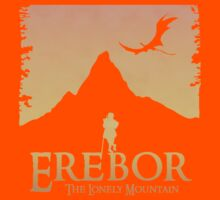 Erebor - The Lonely Mountain (The Hobbit) Kids Clothes