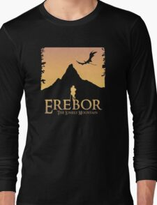 Erebor - The Lonely Mountain (The Hobbit) Long Sleeve T-Shirt