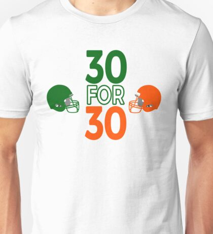 Catholics vs Convicts 30 for 30 Unisex T-Shirt