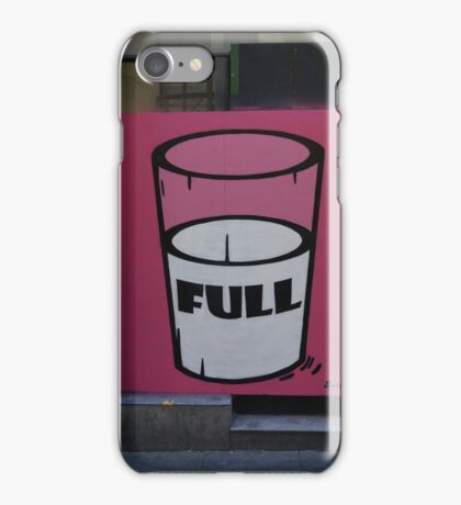 Half full  iPhone Case/Skin
