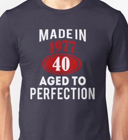 40th Unisex T-Shirt