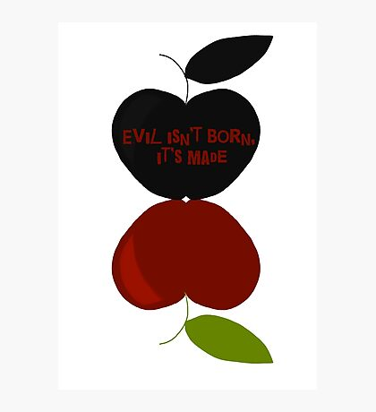 Poisoned Apple Photographic Print