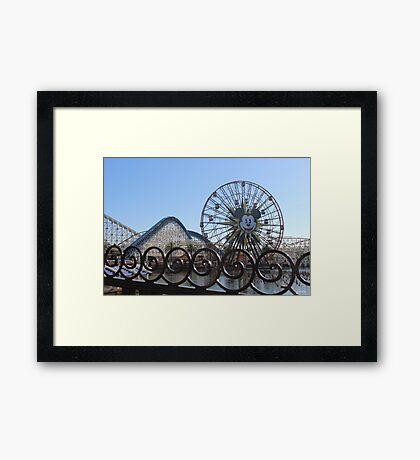 Disney Boardwalk Framed Print