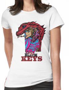 The Black keys Smokey  Dragon  Womens Fitted T-Shirt