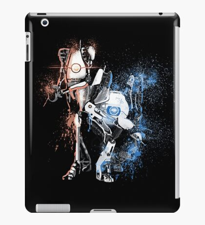 Portal Orange and Blue iPad Case/Skin
