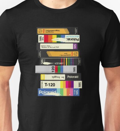Video Tape 80's Style Unisex T-Shirt