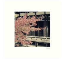 Kyoto Temple Art Print