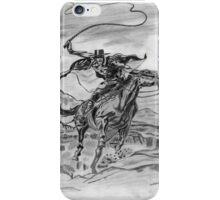 Zorro sketch  iPhone Case/Skin