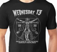 Wednesday 13 - Monsters Of The Universe Unisex T-Shirt