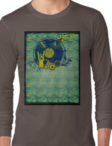 Music Collage 76 Long Sleeve T-Shirt