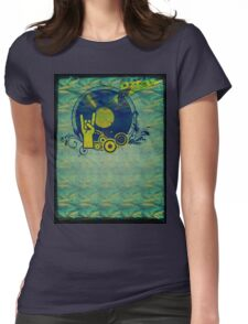 Music Collage 76 Womens Fitted T-Shirt