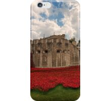 Tower of London Remembers.  iPhone Case/Skin