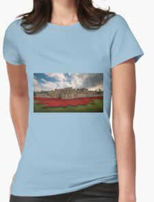 Tower of London Remembers.  Womens Fitted T-Shirt